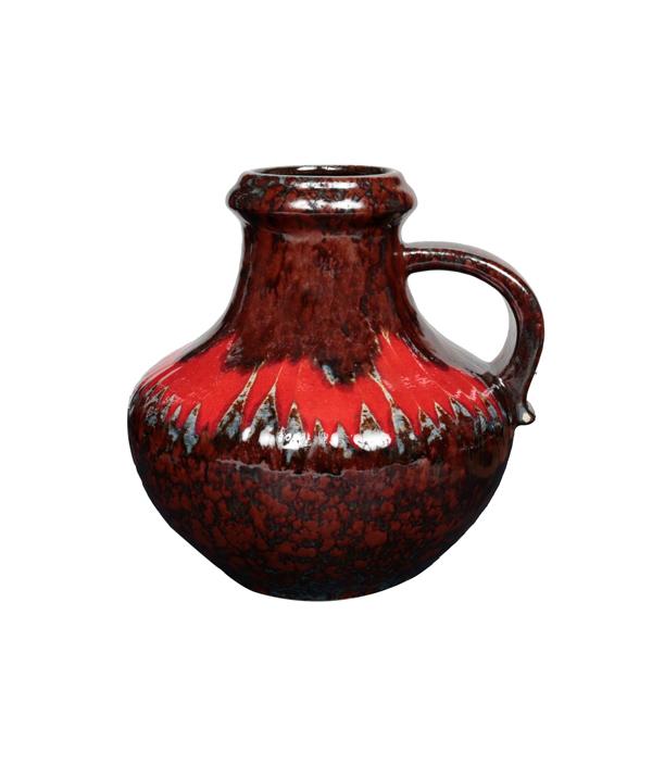 Vintage vase C Red /FAT LAVA