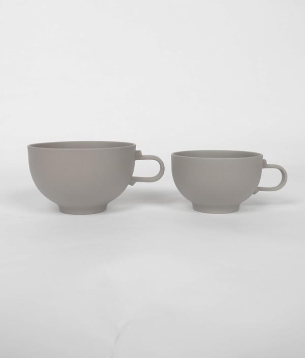 SHIONARI cup M Gray /yumiko iihoshi porcelain