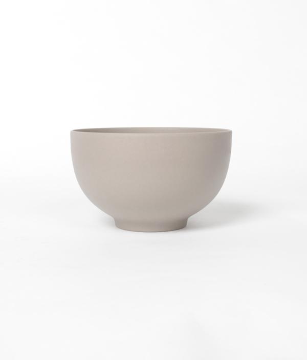 SHIONARI bowl Gray /yumiko iihoshi porcelain