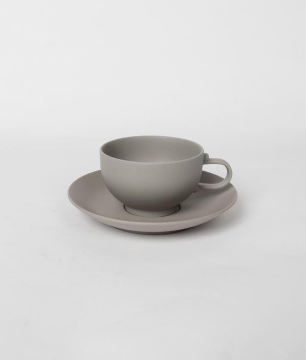 SHIONARI saucer White /yumiko iihoshi porcelain