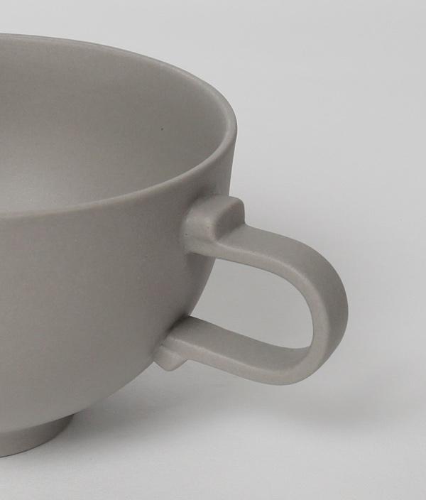 SHIONARI cup S Gray /yumiko iihoshi porcelain