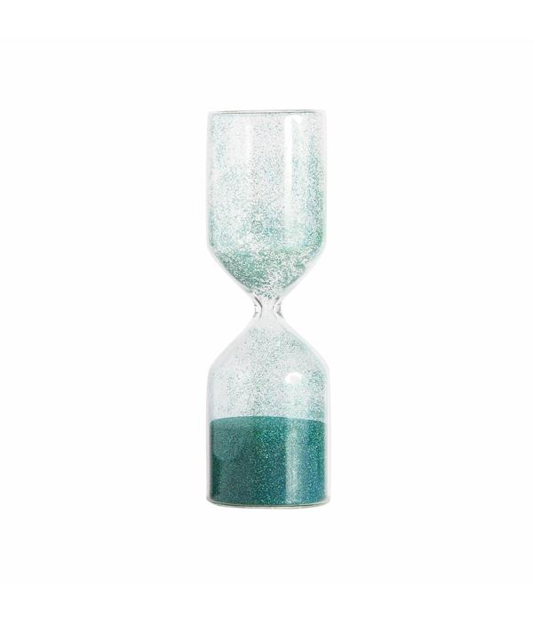 Timeless glitter glass / green medium