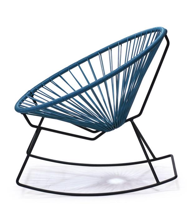 Acapulco Rocking Chair<MUSTARD>