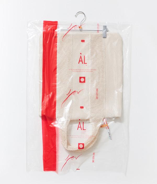 BAG  L  < OFF WHITE > / AL
