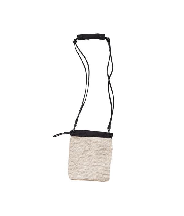 2WAY BAG S < OFF WHITE & BLACK> / AL