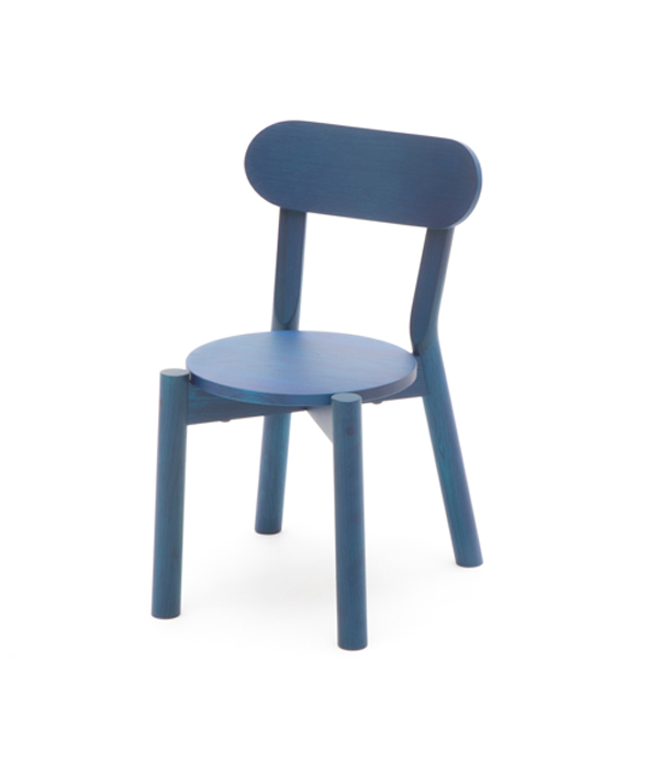 CASTOR KIDS CHAIR <INDIGO BLUE>