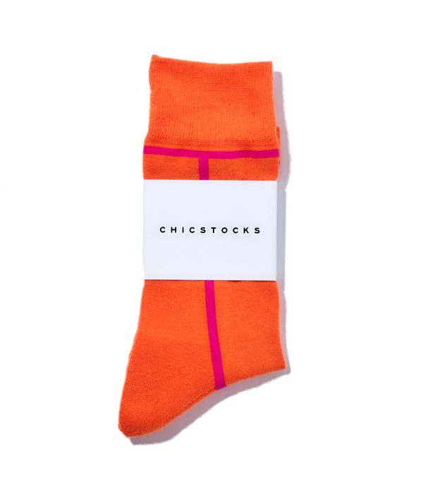 LINE SOCKS /S /Carrot×Cosmos /CHICSTOCKS