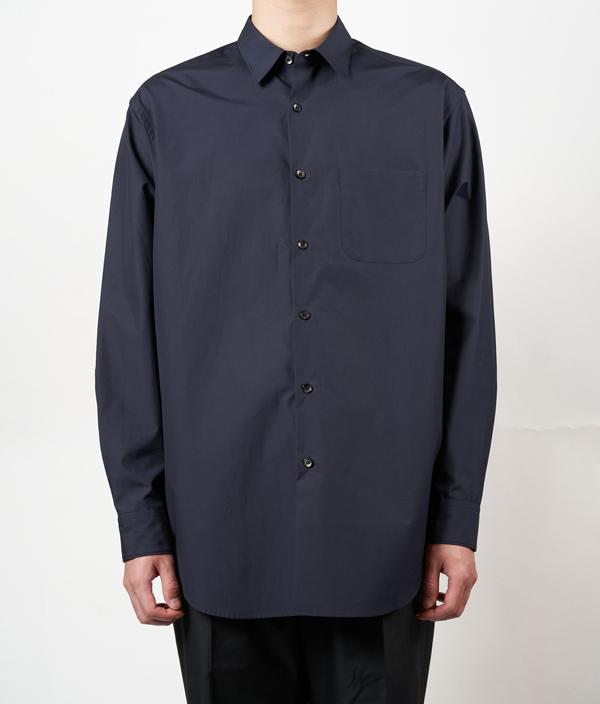 Regular color shirt 01 /3 /Navy /Ōnnod
