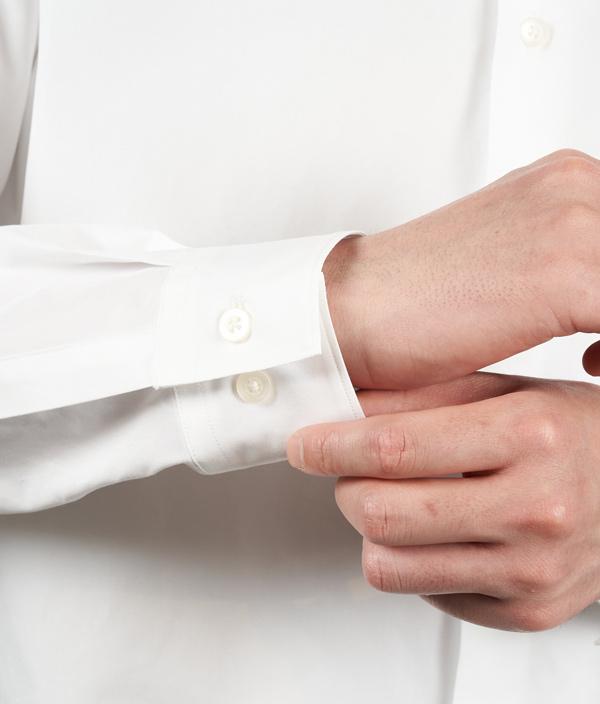 Regular color shirt 01 /3 /White /Ōnnod
