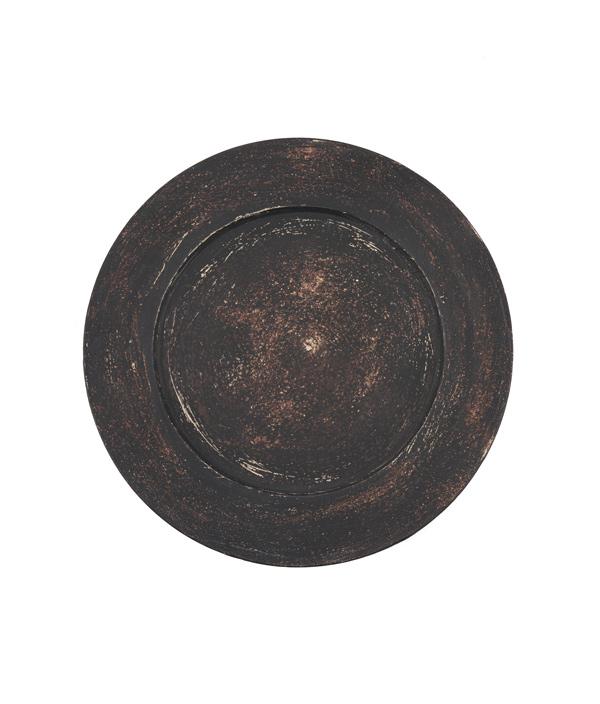 Rim plate 黒 /大澤哲哉