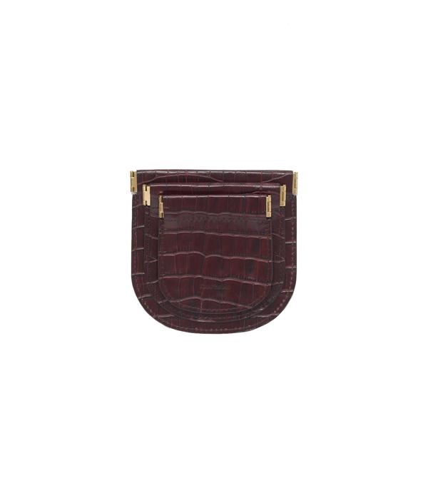 Coin purse S <Choco> / Hender Scheme(エンダースキーマ)