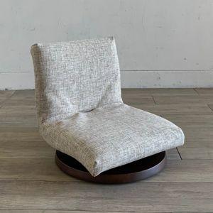 TOCCO 座椅子 ブラウン×ベージュ