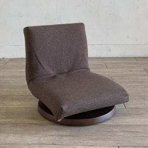 TOCCO 座椅子 ブラウン×ダークブラウン