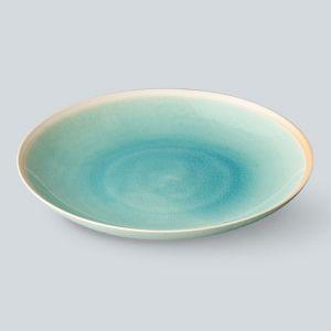 Gloss 丸皿 L ターコイズ
