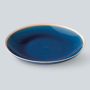 Gloss 丸皿 L インディゴ
