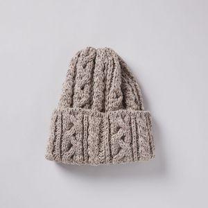 ニット帽 016 BOBCAP グレー / HIGHLAND 2000