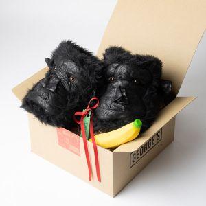 【オンラインストア限定】ゴリラスリッパとバナナのギフトセット