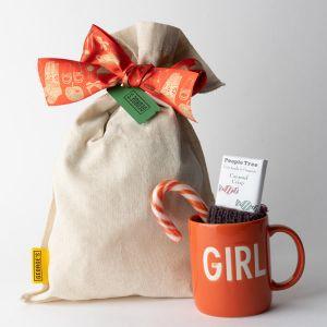 【オンラインストア限定】マグカップとお菓子のギフトセット FOR GIRL