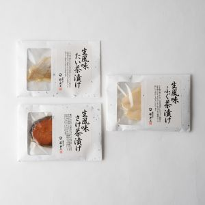 【オンラインストア限定】萩・井上商店 お茶漬け 3個セット