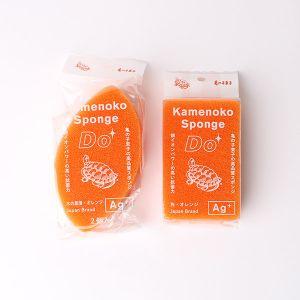 【オンラインストア限定】亀の子スポンジDo 2個セット オレンジ