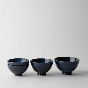 【オンラインストア限定】瑠璃 飯碗 親子セット