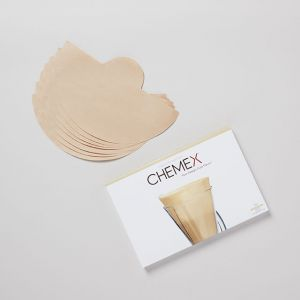 コーヒーフィルター無漂白 100枚入り 6カップ用 / CHEMEX
