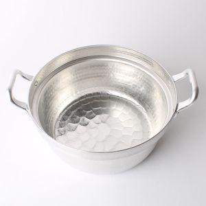 アルミ段付き鍋 21cm