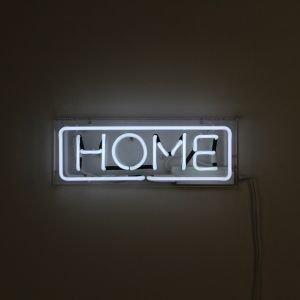 "NEON WORD ""HOME"""