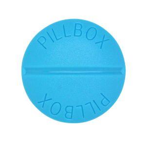 タブレット ピルボックス ブルー