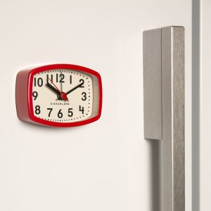 マグネティックアラームクロック / Magnetic Alarm Clock レッド