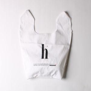 刺繍ナイロンショップバッグ h2