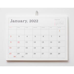 2022 葛西薫カレンダー A3 罫線あり