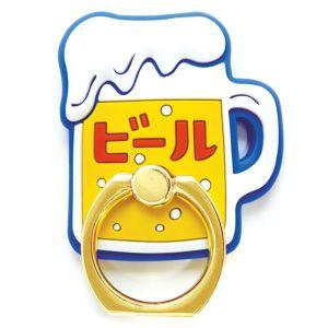 ニューレトロ スマートフォンリング ビール
