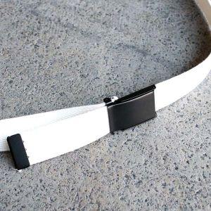 サスペンダーファクトリー ベルト ホワイト