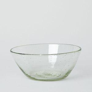 ガラス工房 清天 気泡入り 中鉢