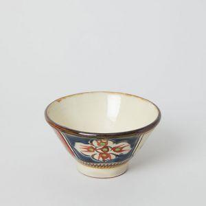 マカイ 3.5寸 赤絵呉須 / 國場陶芸