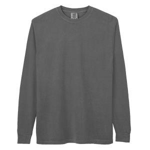 Comfort Colors アダルトリングスパン ロングスリーブTシャツ L ペッパー