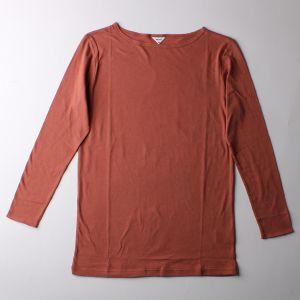 B&H co. ロングスリーブTシャツ ブラウン