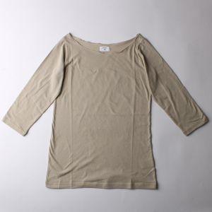 B&H co. 七分袖Tシャツ グレージュ