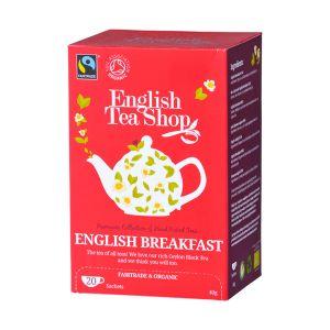 English Tea Shop イングリッシュブレックファースト オーガニックティー 20袋入り