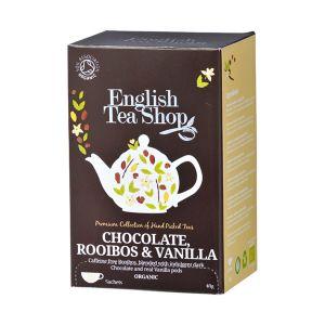 English Tea Shop チョコレートルイボス&バニラ オーガニックティー 20袋入り