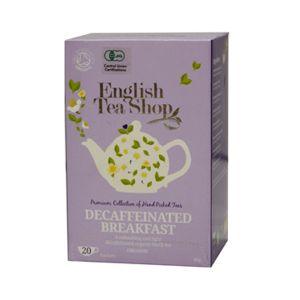 English Tea Shop デカフェブレックファースト オーガニックティー 20袋入り