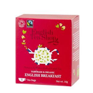 English Tea Shop イングリッシュブレックファースト オーガニックティー 8袋入り