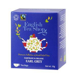 English Tea Shop アールグレイ オーガニックティー 8袋入り