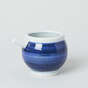片口 大 呉須巻き / 梅山窯