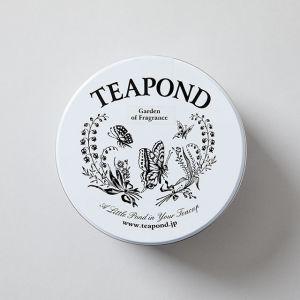 香りの庭 ミュゲ&パピヨン缶 / TEAPOND