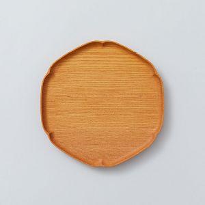 雪輪盆 小 ケヤキ KITO-四十沢木材工芸