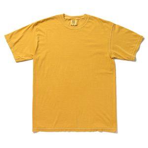 Comfort Colors アダルト リングスパンTシャツ S マスタード