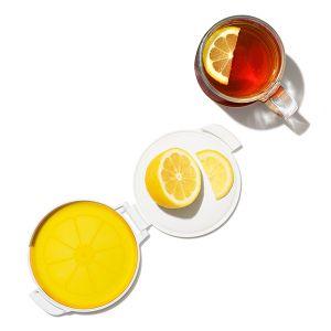 【オンライン限定】OXO/オクソー シリコンフードキーパー レモン