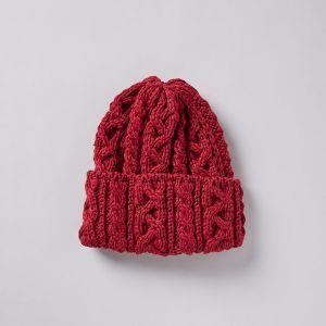 ニット帽 016 BOBCAP レッド / HIGHLAND 2000